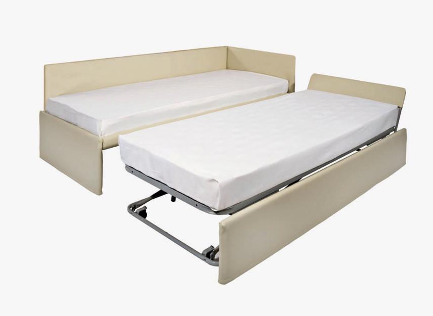 Accessori e forniture per alberghi e hotel - Letto singolo con letto estraibile conforama ...