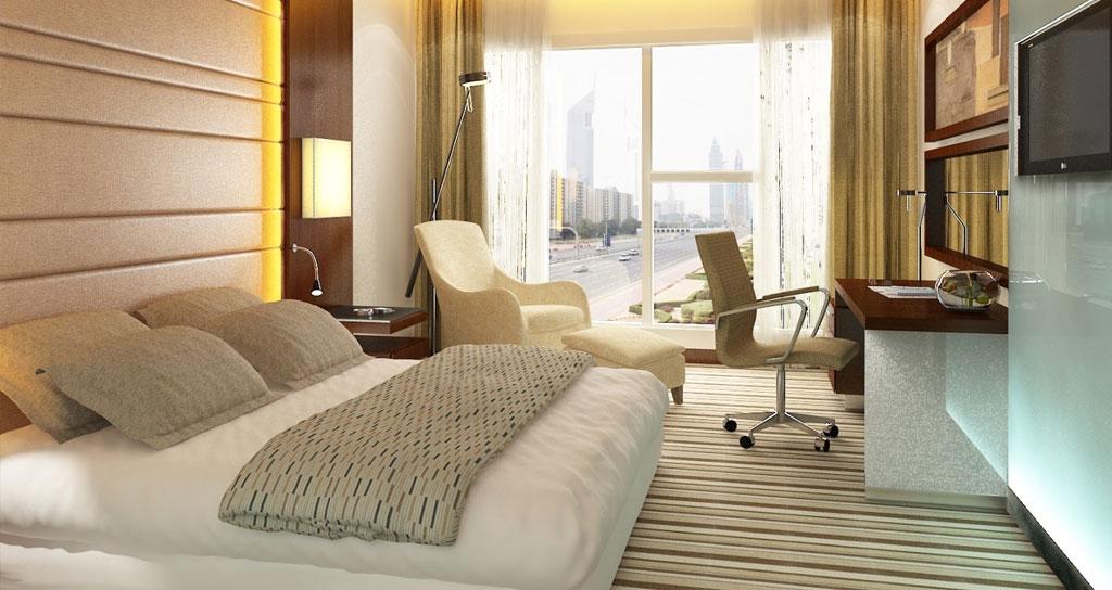 Come arredare una stanza d 39 hotel in stile country - Stanza da letto arredamento ...
