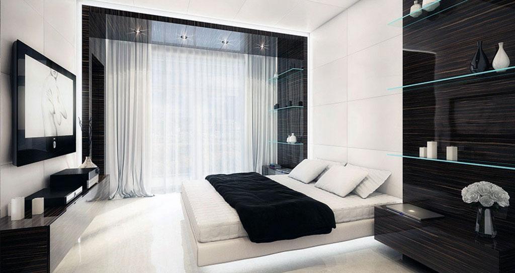 arredamento hotel black white