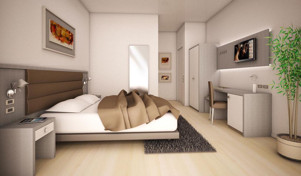 Arredamento minimal per hotel e alberghi for Arredamento minimale